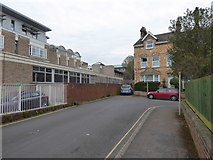 SX9292 : Raleigh Road, St Leonard's, Exeter by David Smith