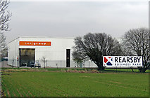 SK6513 : The end of Rearsby Business Park by Andrew Tatlow