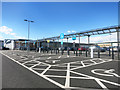 SP2754 : Parking at Sainsburys by Des Blenkinsopp