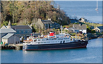 NM8529 : Hebridean Princess at Lighthouse Pier, Oban - April 2013 by The Carlisle Kid