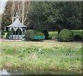 SK7419 : Egerton Memorial Gardens, Melton Mowbray, Leics. by David Hallam-Jones