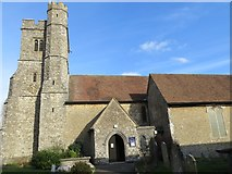 TR0245 : The Church of St Mary at Kennington by Peter Wood
