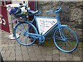 M2924 : Floral publicity bike in Quay Street by Oliver Dixon