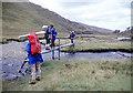 NH1083 : Footbridge at Coire Chaorachain by Alan Reid