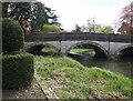 SK7419 : Egerton Lodge Memorial Gardens, Melton Mowbray, Leics. by David Hallam-Jones