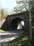 TL1215 : The Nickey Line Bridge over the A1081 Luton Road by Geographer