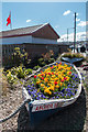 NZ8910 : Floral Display, Whitby, Yorkshire by Christine Matthews