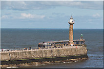 NZ8911 : Whitby Harbour, Yorkshire by Christine Matthews