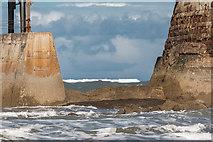 NZ8911 : West Pier, Whitby, Yorkshire by Christine Matthews