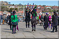 NZ8910 : Goth Morris Dancers, Whitby, Yorkshire by Christine Matthews