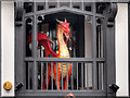 SJ4067 : Red Dragon on its Balcony by David Dixon