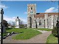 TQ7376 : St Helen's Church, Cliffe by Marathon