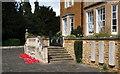 SK7519 : Egerton Lodge Memorial Gardens, Melton Mowbray, Leics. by David Hallam-Jones