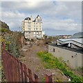 SH7882 : Grand Hotel and Pier Pavilion Site by Gerald England