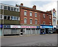 SO8318 : Trutex shop and former Golden Dragon in Gloucester by Jaggery