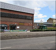 SO8318 : Gloucester City Homes office, Bruton Way, Gloucester by Jaggery