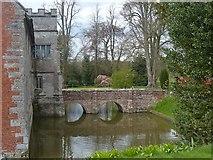 SP1971 : Bridge across the moat, Baddesley Clinton by Robin Drayton