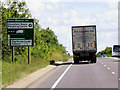 SK9650 : Eastbound A17 near to Fulbeck by David Dixon