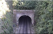 TR2548 : Lydden Tunnel by N Chadwick