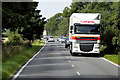 SK9635 : Goods Vehicle Travelling East on the A52 by David Dixon