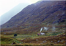 NH0680 : There's life in Shenavall bothy by Alan Reid