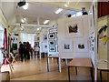 SP9612 : An Art Exhibition inside Aldbury Village School by Chris Reynolds