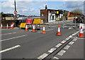 ST3088 : Road closed, Bridge Street, Newport by Jaggery