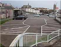 SX9473 : Teignmouth railway station car park by Jaggery