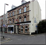 SX9473 : Biggles Bar and B&B, Roundel Club, Station Road, Teignmouth by Jaggery