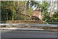 SU9654 : Bridge by Rickford Mill by Alan Hunt