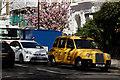 TQ2678 : Black Cab by Peter Trimming