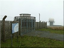 SO5977 : Radar station on Titterstone Clee by Alan Murray-Rust