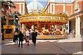 SJ7796 : Barton Square Carousel by David Dixon