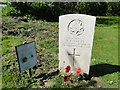 TF9308 : Headstone of Robert John Watts, East Surrey Regiment by Adrian S Pye