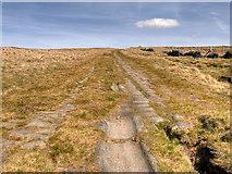 SD9617 : 'Roman' Road over Blackstone Edge by David Dixon
