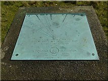 SO6175 : Toposcope on Clee Hill by Alan Murray-Rust
