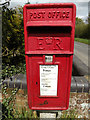 TM1850 : Burwash Houses Postbox by Adrian Cable