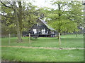 TG4214 : Holiday home in woodland, Clippesby by JThomas