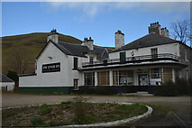 NT1126 : Scottish Borders : The Crook Inn by Lewis Clarke