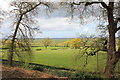 SJ5359 : View from the Woodland Path at Beeston Castle by Jeff Buck