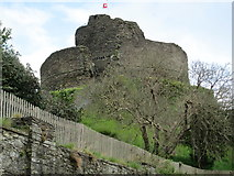 SX3384 : Launceston Castle by David Weston