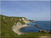 SY8080 : Man O' War Bay, Dorset by pam fray