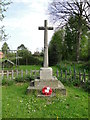 TF9828 : Stibbard War Memorial by Adrian S Pye