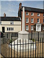 TG0324 : Foulsham War Memorial by Adrian S Pye