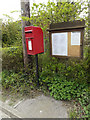 TM1652 : 3 The Square Postbox & Henley Square Village Notice Board by Geographer