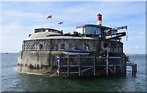 SZ6397 : Spitbank Fort by Rob Farrow