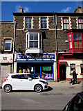 SS7597 : Bryony Theatrical Costume Hire shop, Neath  by Jaggery