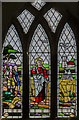 TF1392 : Stained glass window, All Saints' Church, Walesby by Julian P Guffogg