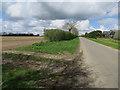 TL9896 : Bell Lane by Hugh Venables