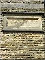 SE2562 : Building  plaque on  Wesleyan  Chapel  (converted) by Martin Dawes